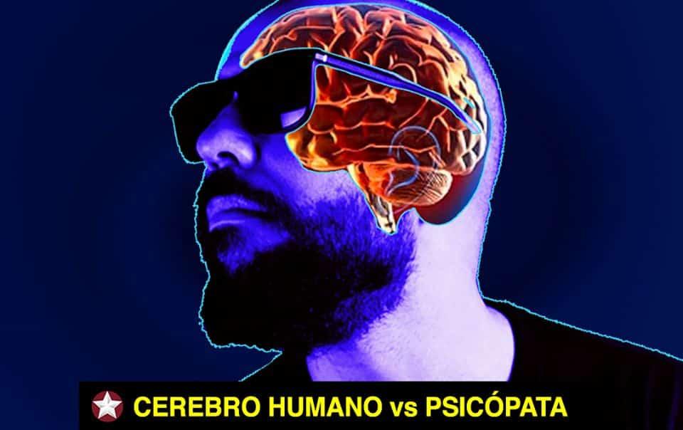 cerebro del psicopata